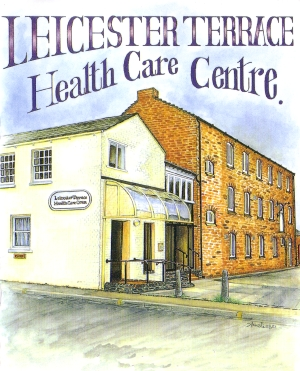 Leicester terrace health care centre information about for Terraces opening times